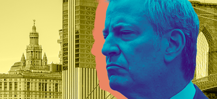 What does New York City's mayor do?