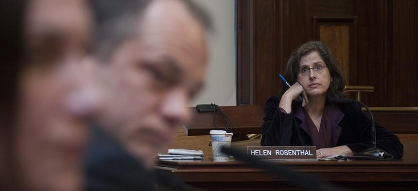 New York City Councilwoman Helen Rosenthal at a hearing.