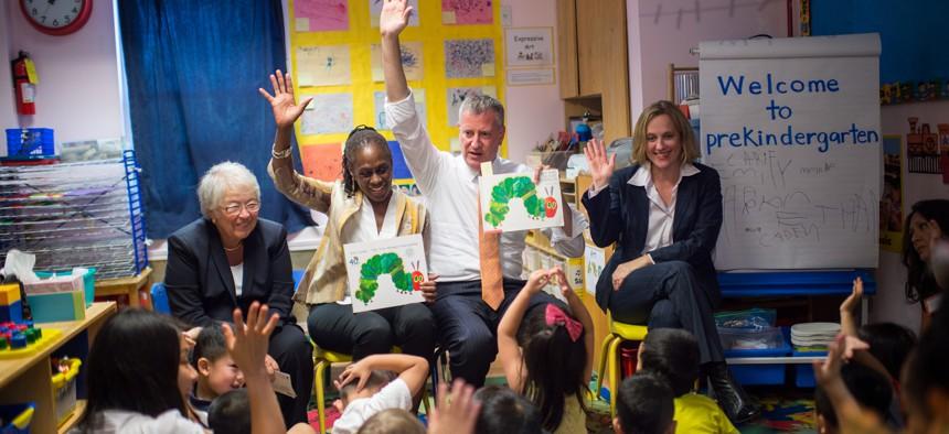 Bill de Blasio prekindergarten