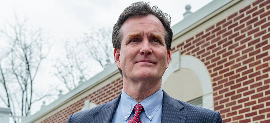State Senate Minority Leader John Flanagan.