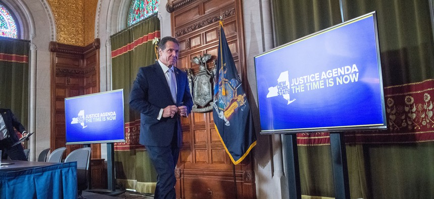 Andrew Cuomo budget briefing March 11 2019