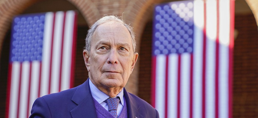 Michael Bloomberg's campaign ended after falling short on Super Tuesday.