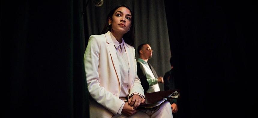 Rep. Alexandria Ocasio-Cortez.