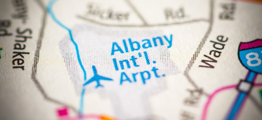 The Albany County Airport Authority was affected by a ransomware attack over the Christmas holiday.