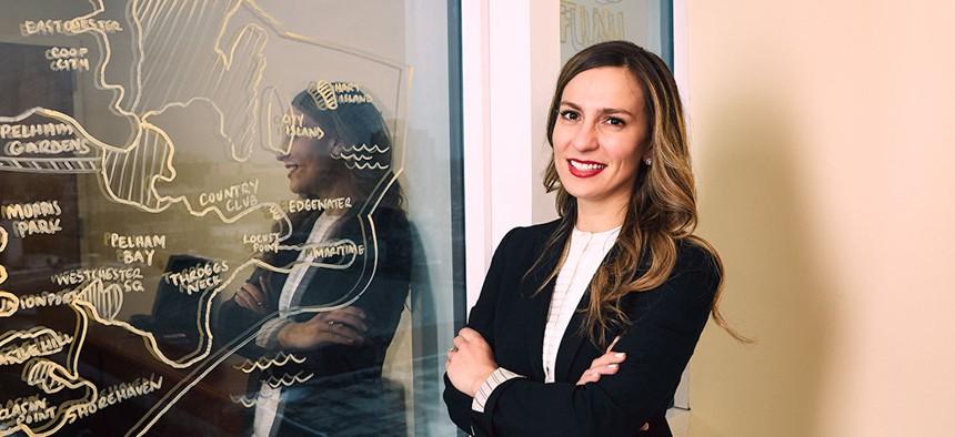 State Sen. Alessandra Biaggi.