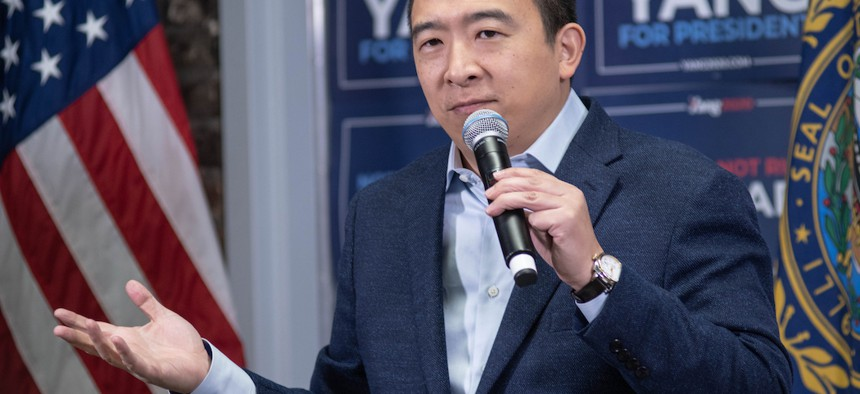 Andrew Yang filed the lawsuit that got the New York democratic presidential primary back on.