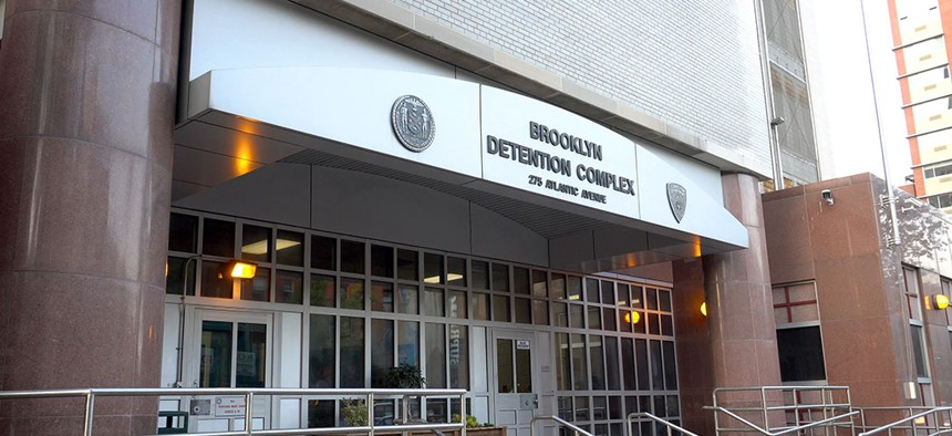 The Brooklyn Detention Center.