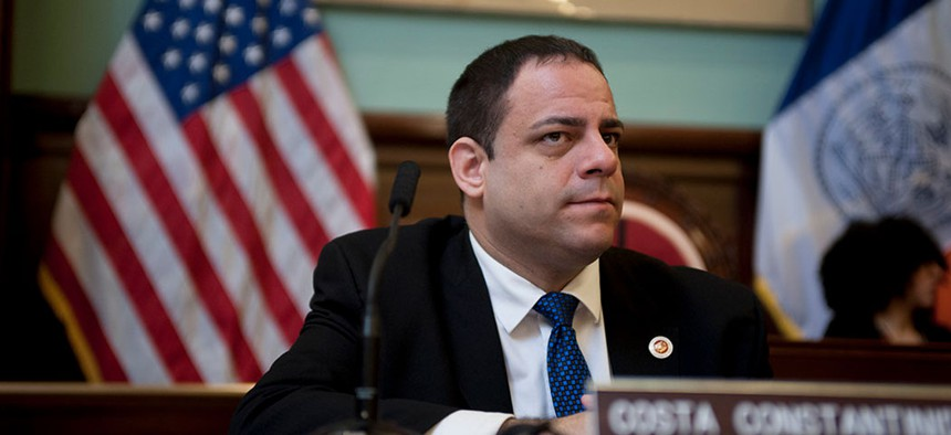 Council Member Costa Constantinides is tied for first with 11 laws enacted in 2019.