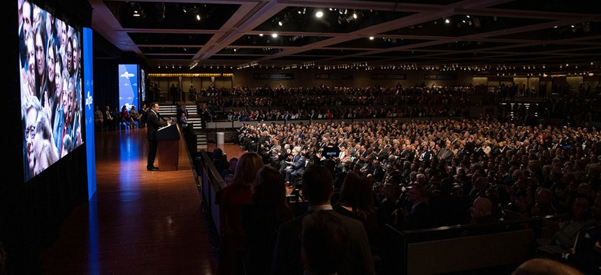 Governor Andrew M. Cuomo delivers his 2020 State of the State Address in Albany.