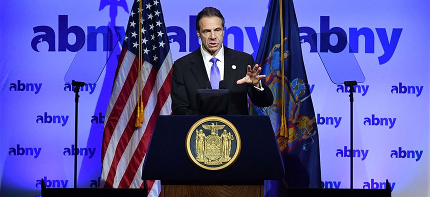 In 2020 Cuomo will have to hammer out a deal with increasingly assertive Democratic majorities in the state Senate and Assembly.