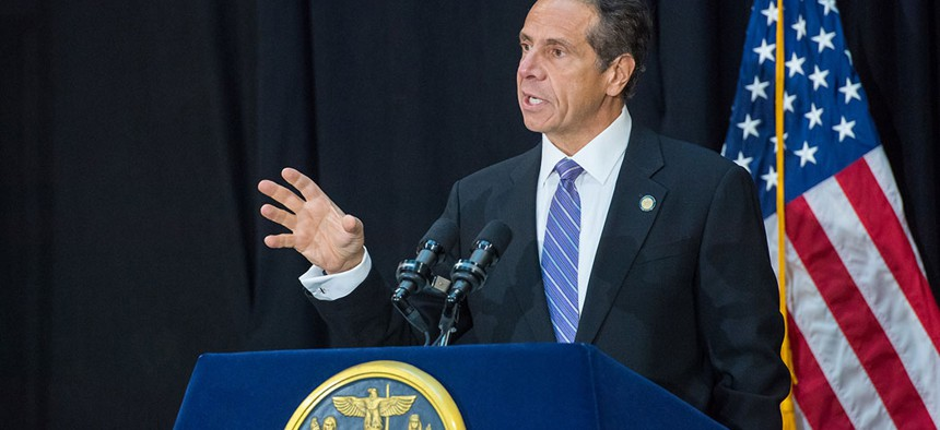 Governor Cuomo has complained about JCOPE appointees voting against him.