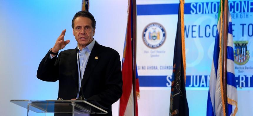 New York Gov. Andrew M. Cuomo