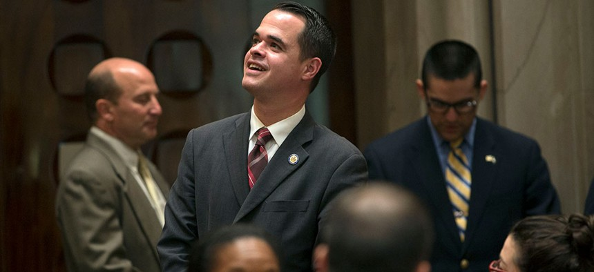 Former IDC member David Carlucci passed 61 bills, the most in the Senate.