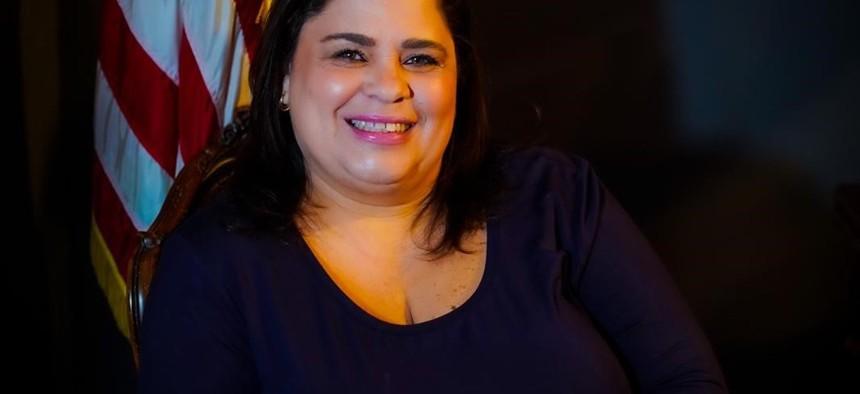 New York City Council candidate Darma Diaz.