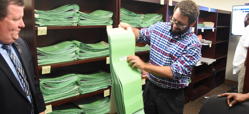 New York City Board of Elections petitions