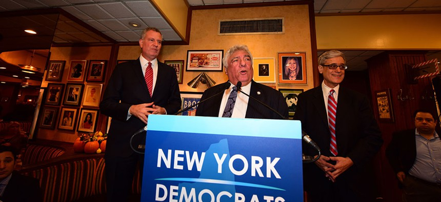 Head of the Brooklyn Democratic Party, Frank Seddio, announced that he will step down this week.