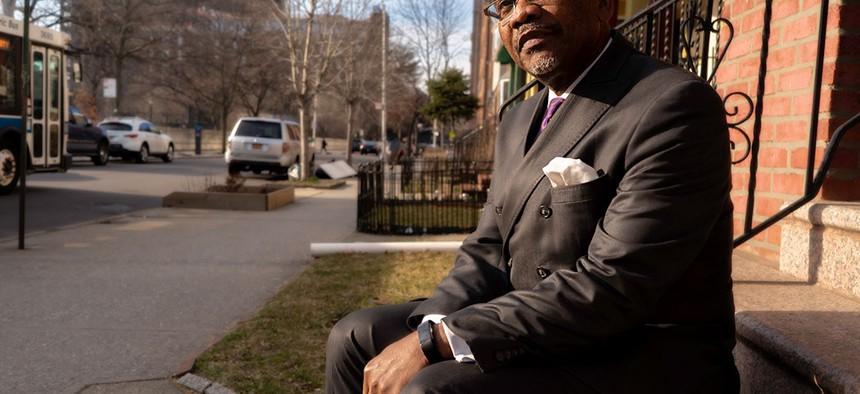 Queens County Democratic Party chairman Rep. Gregory Meeks.