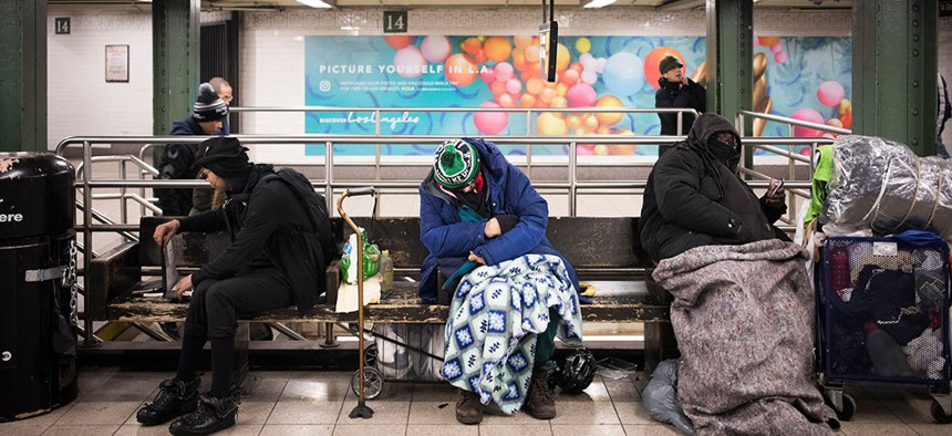 Around 1,198 homeless New York City families have been relocated to Newark, NJ.
