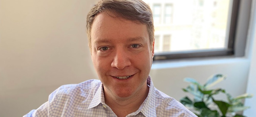 John Raskin, co-founder and outgoing executive director of the Riders Alliance.