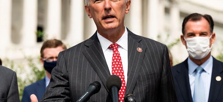 Rep. John Katko was the first Republican to vote for Trump's impeachment.