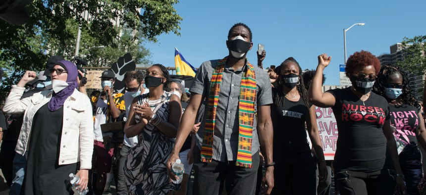 New York City Public Advocate Jumaane Williams stepped up during a summer of Black Lives Matter protests.