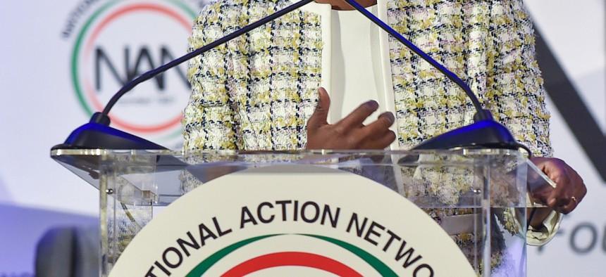 Karine Jean-Pierre was appointed as Biden's principal deputy press secretary.