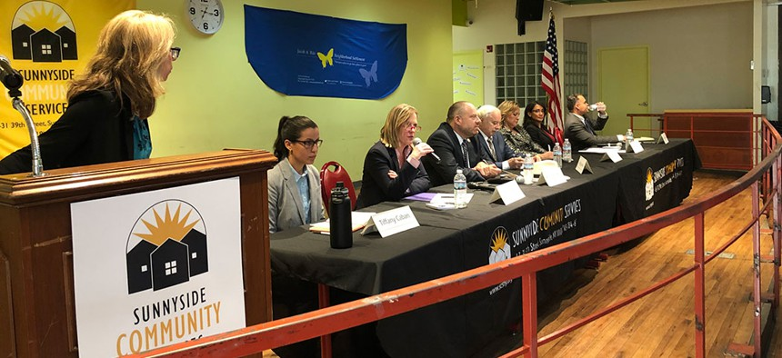 Queens District Attorney candidates debate the issues.