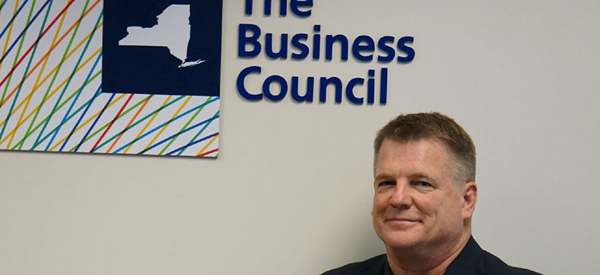 Ken Pokalsky, Business Council Vice President.
