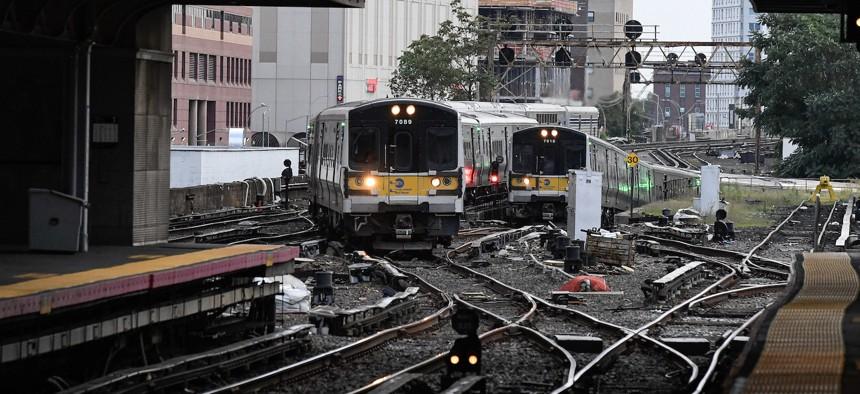 The LIRR Jamaica Station on September 14, 2020.