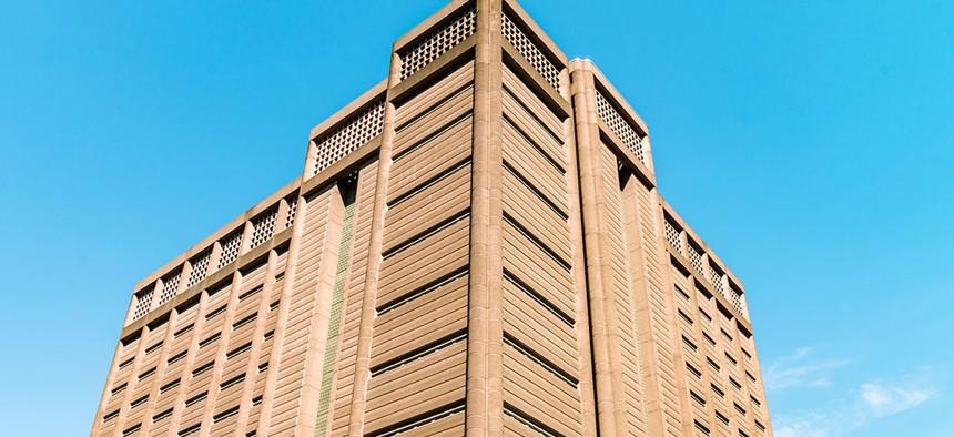 The Manhattan Detention Complex, a municipal jail in Lower Manhattan.