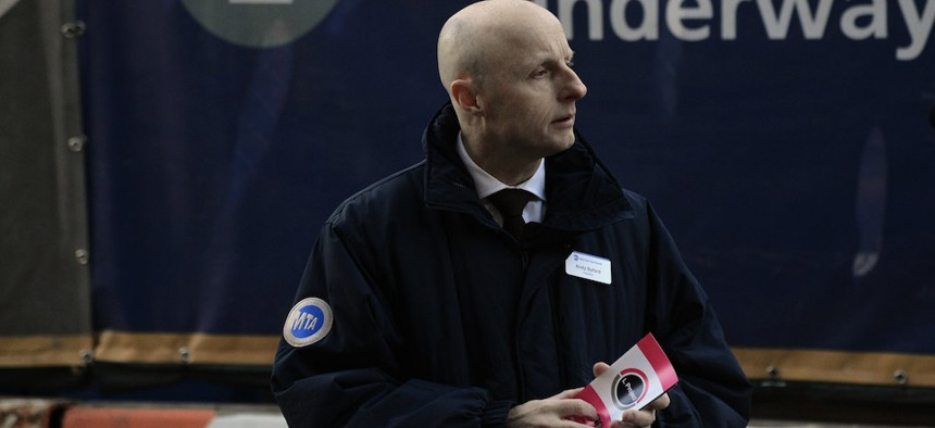 MTA chief Andy Byford resigned this week.