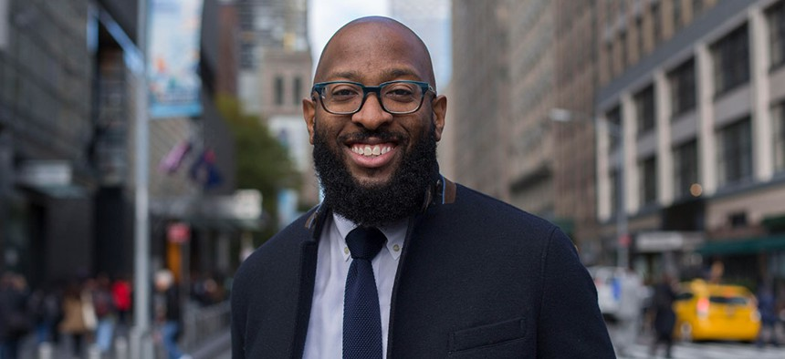 Mark Chambers, Director of the New York City Mayor's Office of Sustainability.
