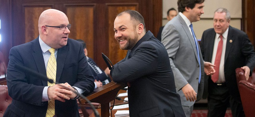 Speaker Corey Johnson and Council Member Steven Matteo both had perfect attendance records.