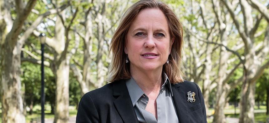 Queens Borough President and district attorney candidate Melinda Katz.