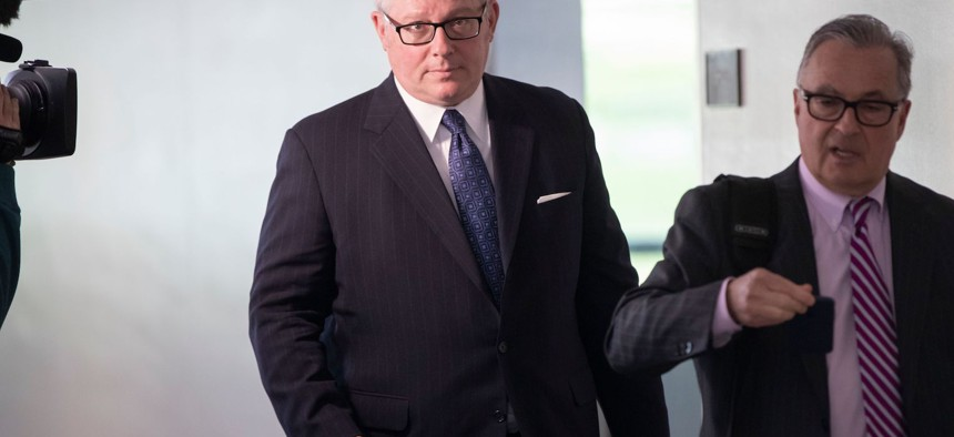 Michael Caputo, assistant secretary of public affairs at the Department of Health and Human Services.