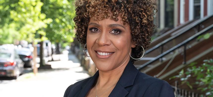 2021 Mayoral hopeful Dianne Morales.