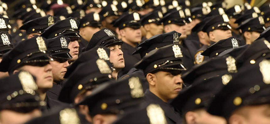 Is it getting more dangerous to be a New York City police officer?