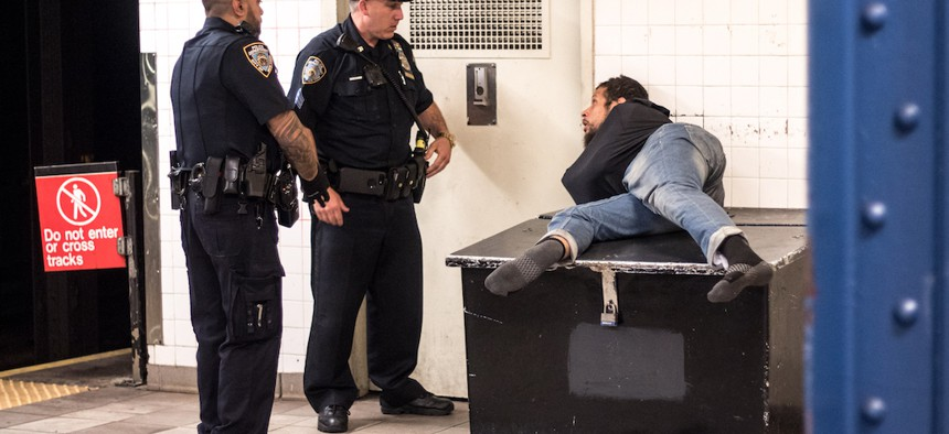 Defunding the NYPD could mean more well rounded solutions to addressing homelessness.