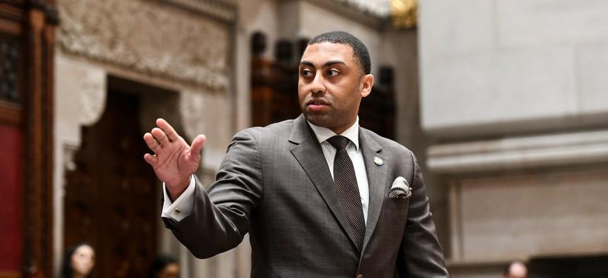 New York State Senator Jamaal Bailey, the new Bronx Boss