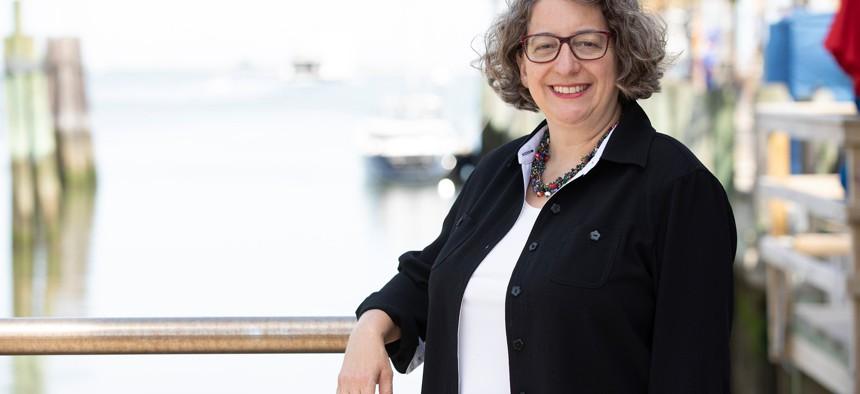 NY-01 candidate Nancy Goroff.