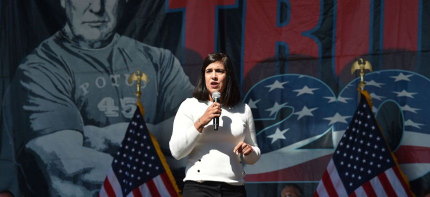 New York State Assemblywoman Nicole Malliotakis defeated Congressman  Max Rose.