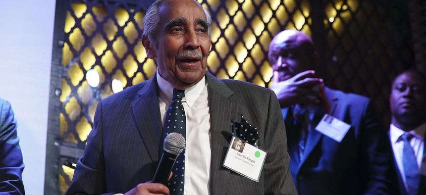 Keynote speaker former Rep. Charles Rangel.