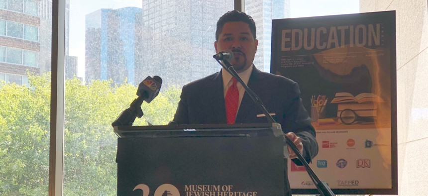 New York City Schools Chancellor speaks at City & State's Education in New York Summit on Thursday.