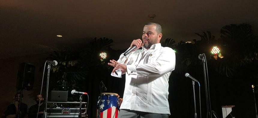Assemblyman Marcos Crespo at Somos.