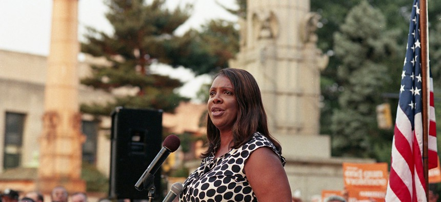 Tish James and her staff have been successful in leading large bipartisan coalitions like the one probing Facebook.