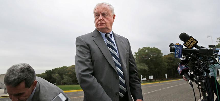 Suffolk County's former DA, Thomas Spota.