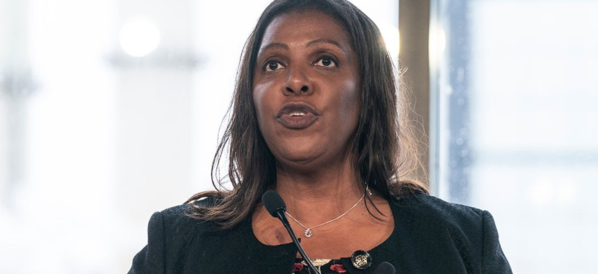 New York State Attorney General Letitia James is investigating the charitable arm of the National Rifle Association.