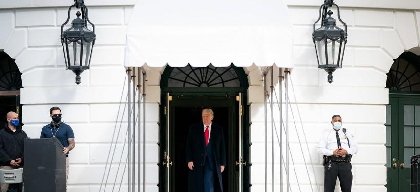 Donald Trump on October 30, 2020.