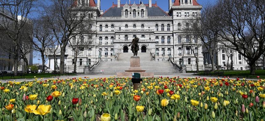 New York legislators are proposing a variety of COVID-19 related bills.