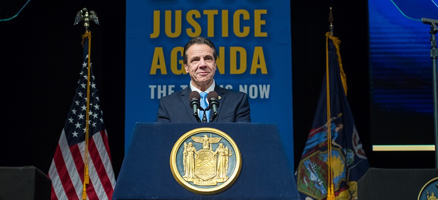 Gov. Andrew Cuomo delivers the 2019 State of the State address and proposed 2019-2020 executive budget.